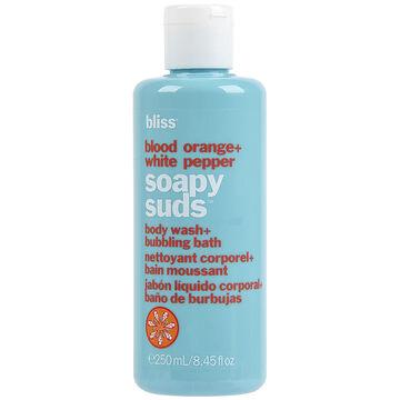 Bliss Blood Orange + White Pepper Soapy Suds Body Wash + Bubbling Bath - 250ml