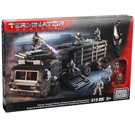 Mega Bloks Terminator Genisys - Prisoner Transport Attack