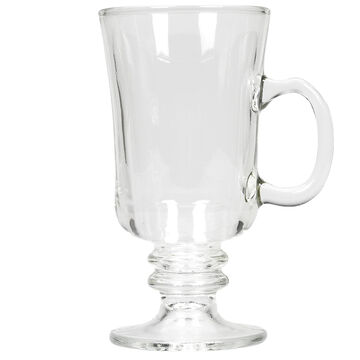 Glass Coffee Mug - Assorted Colours