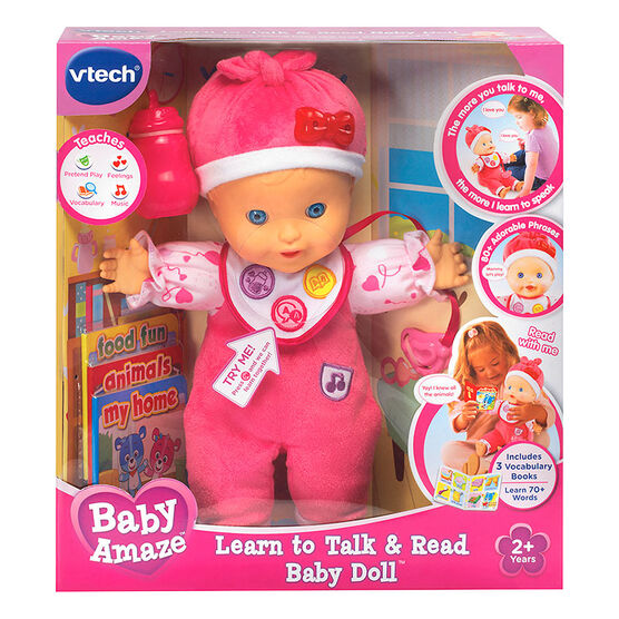 Baby Amaze Learn to Talk and Read Baby Doll
