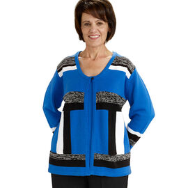 Silvert's Adaptive Top - Royal - Womens