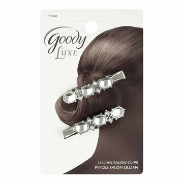 Goody Luxe Starburst Lenora Salon Clips - 2 pack - Assorted Colours