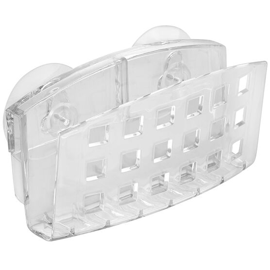 InterDesign SinkWare Sponge Holder - Clear