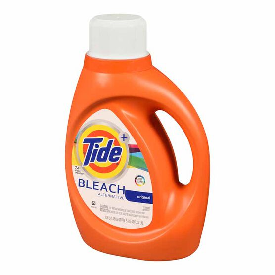 Tide Liquid Laundry Detergent With Bleach Alternative - 1.36L/24