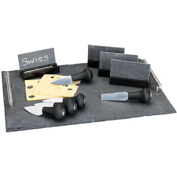 London Drugs Cheese Set with Slate Tray - 19 piece