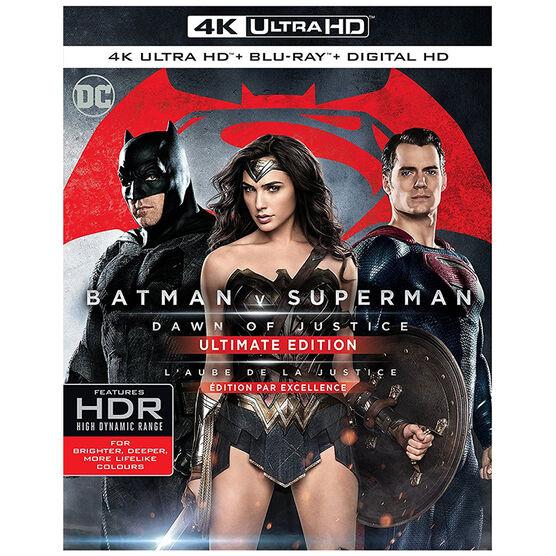 Batman v Superman: Dawn of Justice - 4K UHD Blu-ray