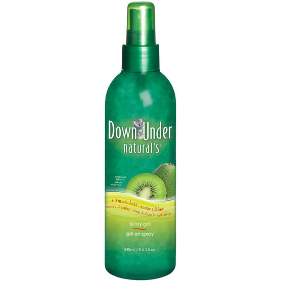 Down Under Natural's Ultimate Hold Spray Gel - 240ml