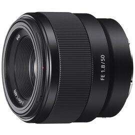 Sony FE 50mm F1.8 Full-frame E-mount Prime Lens - SEL50F18F