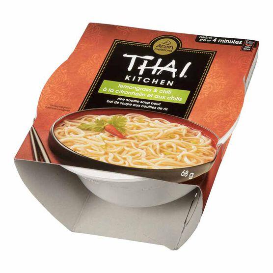 Thai Kitchen Rice Noodle Bowl - Lemongrass & Chili - 68g