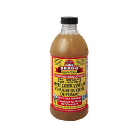 Bragg Organic Raw-Unfiltered Apple Cider Vinegar - 473ml