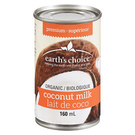 Earth's Choice Organic Premium Coconut Milk - 160ml