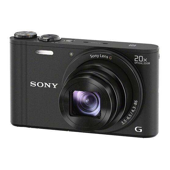 Sony WX350 Digital Camera - Black - DSCWX350B
