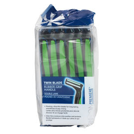 London Premiere Twin Blade Disposable Razor - Men's - 12's