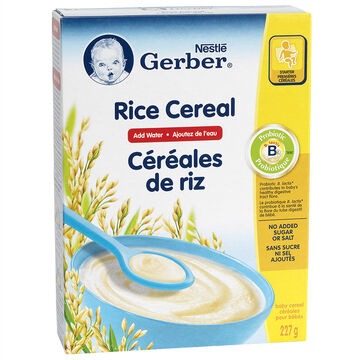 Nestle Baby Cereal With Milk - Rice - 227g