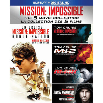 Mission: Impossible - Five Movie Collection - Blu-ray + Digital