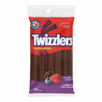 Twizzlers Twizzelators - Wildberry - 200g