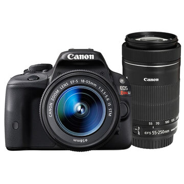 Canon Rebel SL1 with 18-55mm IS and 55-250mm IS STM