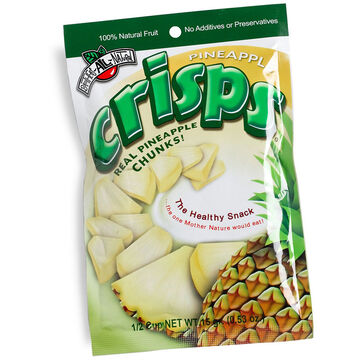Brothers All Natural Fruit Crisps - Pineapple - 15g