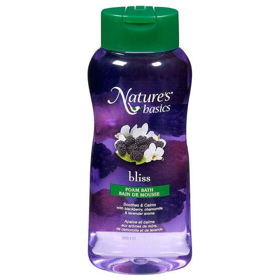 Nature's Basics Foam Bath - Bliss - 700ml