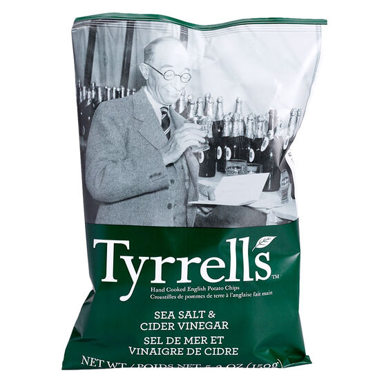 Tyrrell's Chips - Sea Salt and Vinegar - 150g