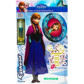 Frozen Anna Fathead Teammate Decal
