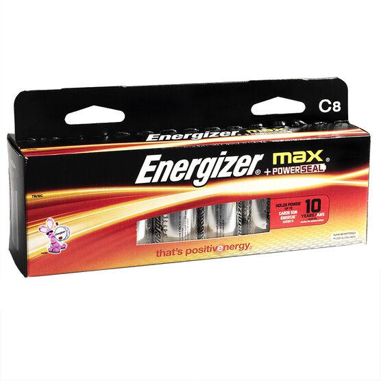 Energizer Max C Batteries - 8 pack