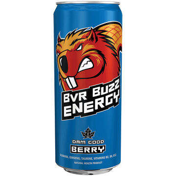 Beaver Buzz Energy Drink - Berry - 473ml