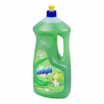 Sunlight Antibacterial Dish Soap - Green Apple - 1.5L