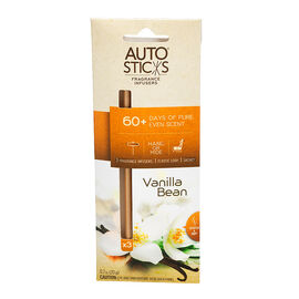 Auto Air Freshener Sticks - Vanilla Bean - 3's