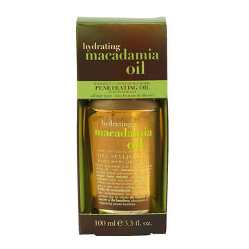 OGX Hydrating Macadamia Oil Dry Styling Oil - 100ml