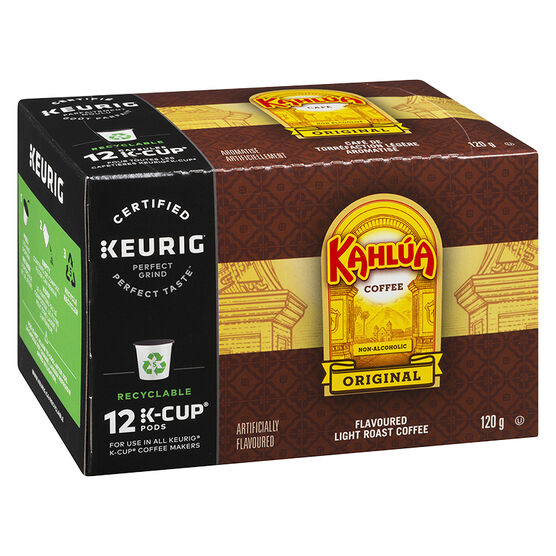 K-Cup Timothy's Light Roast Coffee -Kahlua - 12 Servings