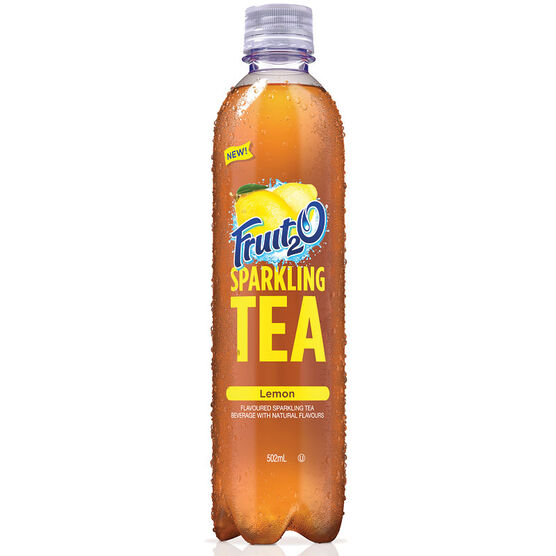 Fruit 2 0 Sparkling Tea - Lemon - 502ml