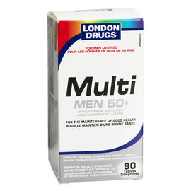London Drugs Multi Men's 50+ Senior Multivitamins- 90's