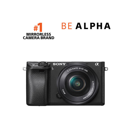 Sony a6300 Body with 16-50mm OSS Lens - Black - ILCE6300L/B