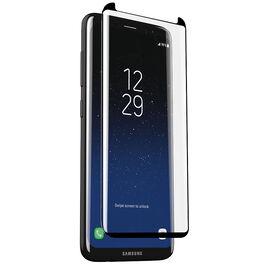 Zagg Invisible Shield Glass for Samsung Galaxy S8 - Black Boreder - ISGS8CGCBKF