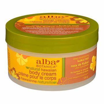 Alba Hawaiian Body Cream - Kukui Nut - 180g