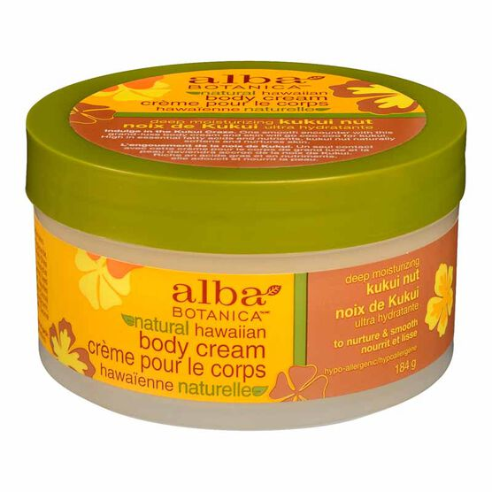 Alba Hawaiian Body Cream - Kukui Nut - 180g