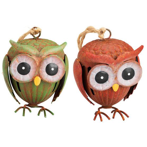 London Look Cedar Lodge Owls - 3.75inch - Assorted