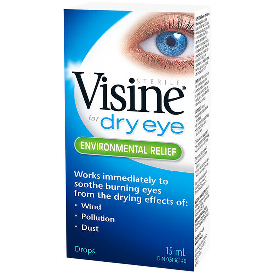 Visine for Dry Eye - Environmental Relief - 15ml
