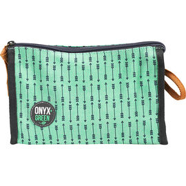 Onyx + Green Pencil Pouch - Assorted