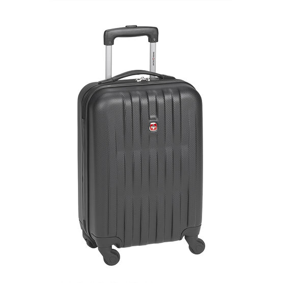 "Swiss Gear Entremont Collection Hardside Carry-On - 20"" - Black"