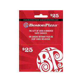 Boston Pizza Gift Card - $25