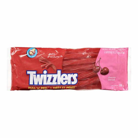 Twizzler Pull-n-Peel Cherry Candy - 396g