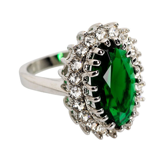 Marca Emerald Ring - Size 8