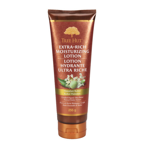 Tree Hut Extra Rich Moisturizing Lotion - Hawaiian Kukui - 255g