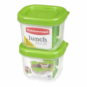 Rubbermaid LunchBlox - Sauce - 118ml - 2 pack