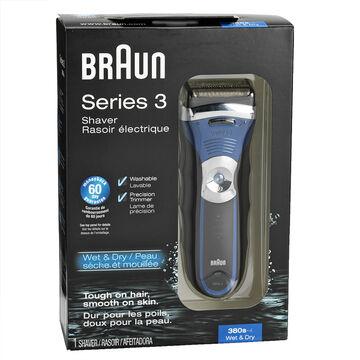 Braun Series 3-380 Electric Shaver