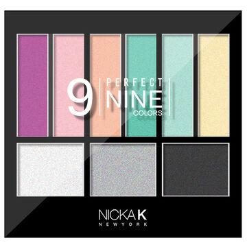 Nicka K Perfect Nine Eyeshadow Palette - AP019