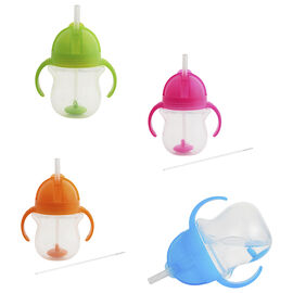 Munchkin Weighted Flexi-Straw Cup - 7oz - Assorted