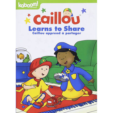 Caillou: Caillou Learns to Share - DVD